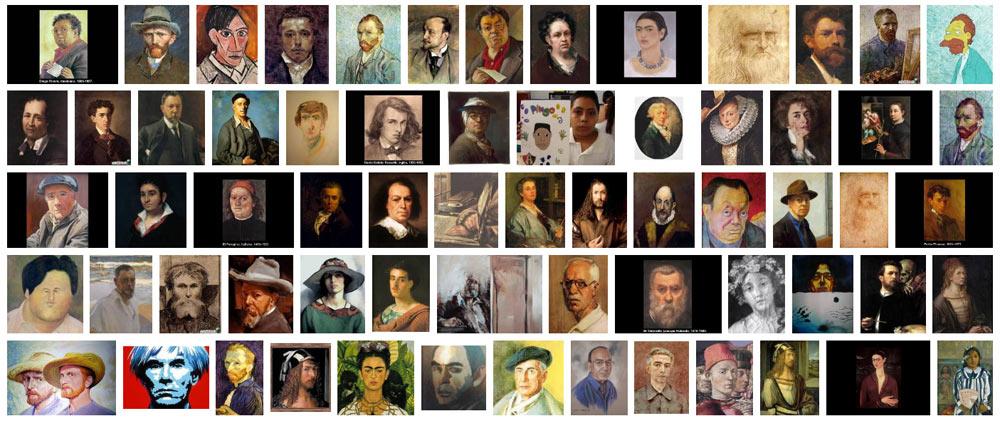 Autorretratos de pintores