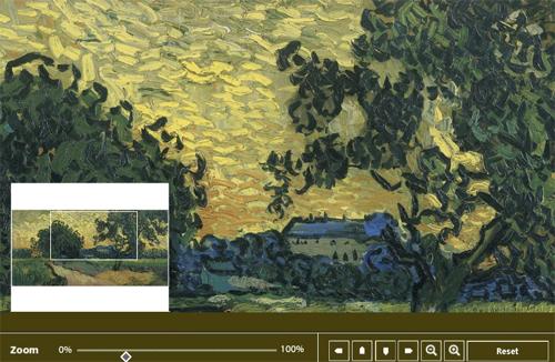 La técnica de Van Gogh