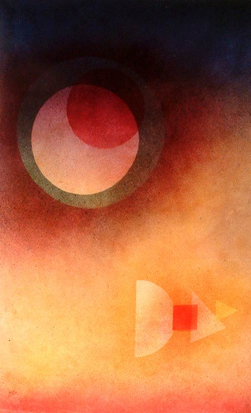 Luna evasión de Kandinsky