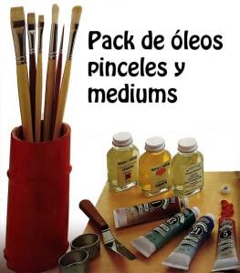 Pack de pintura al óleo
