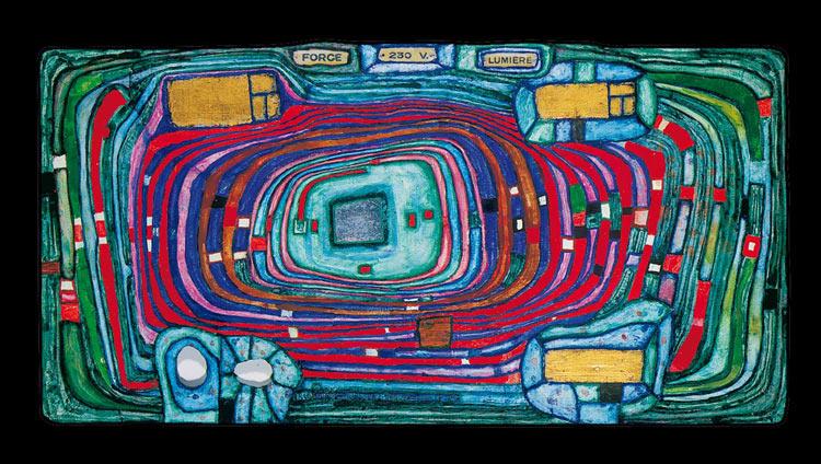 Centralita de Hundertwasser