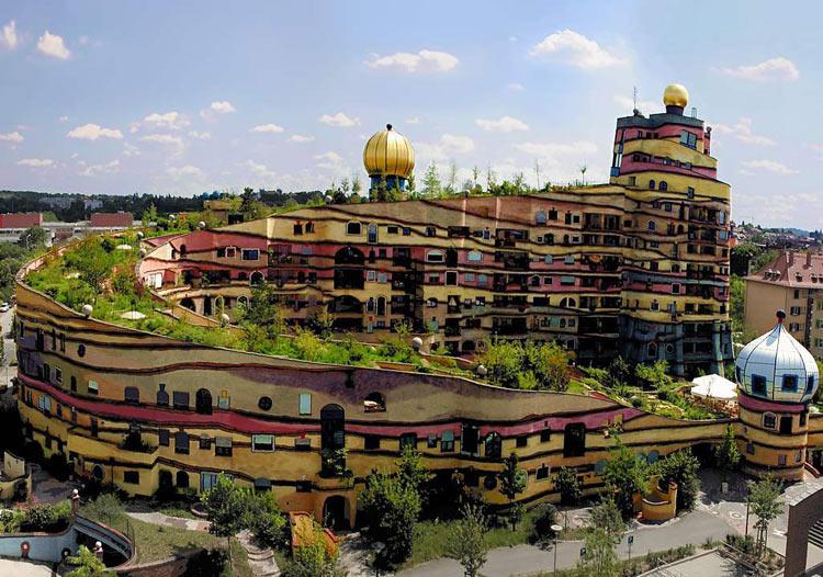 Edificio de Hundertwasser