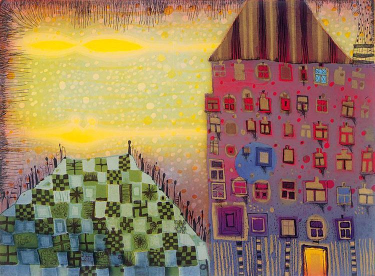 Paisaje urbano de Hundertwasser