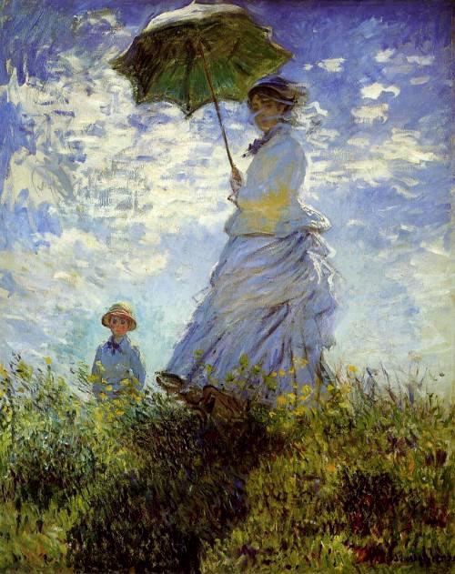 Paseo por el campo de Monet