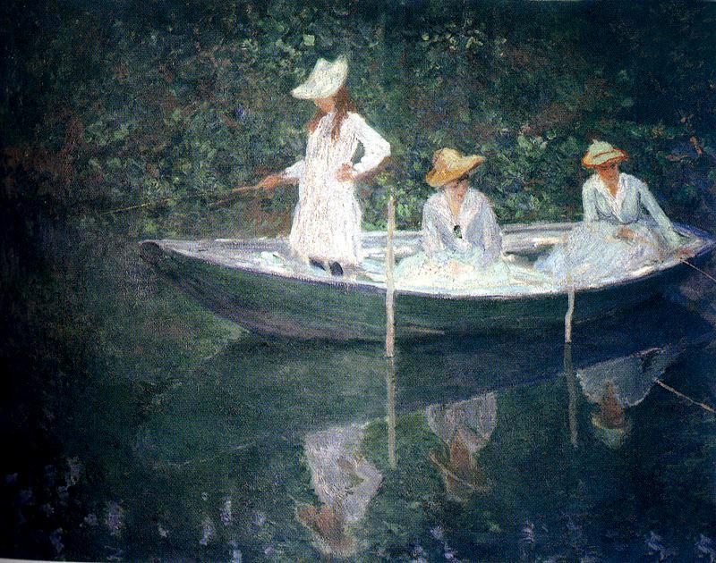 La barca en Giverny