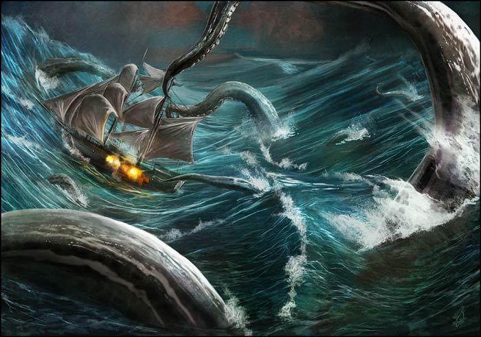 Kraken gigante
