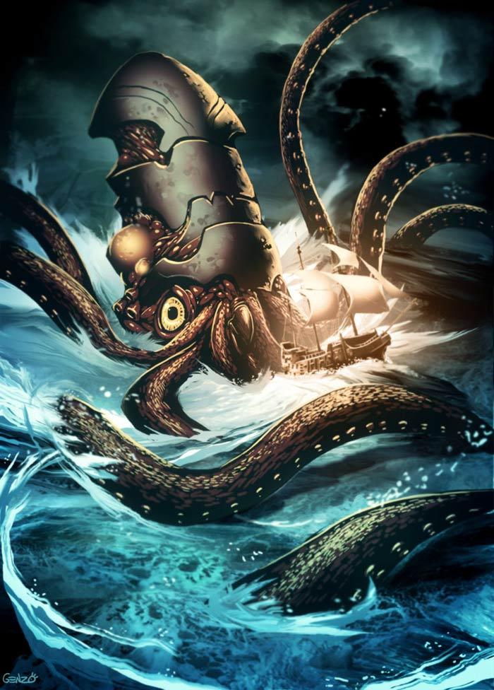 Octopus gigante