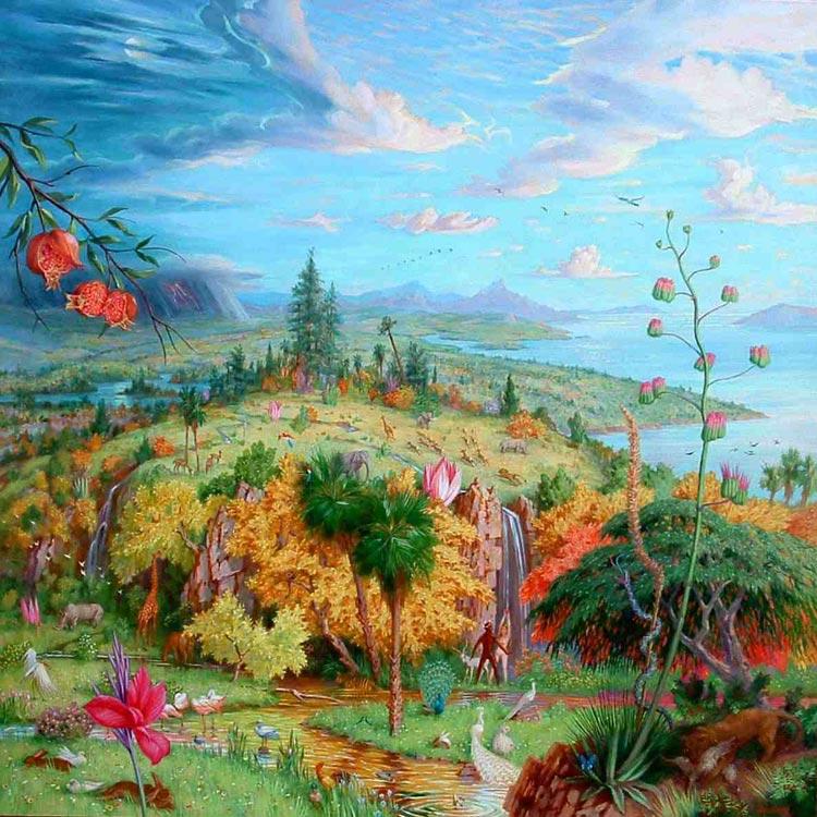 Pintar el para so pintura y artistas for El paraiso de las alfombras
