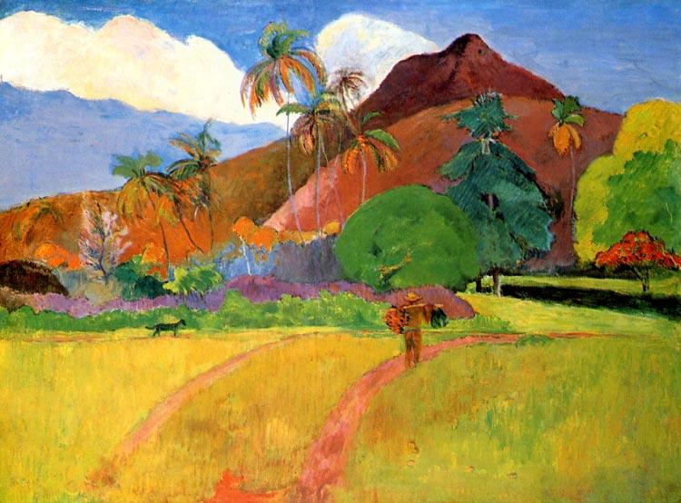 Paraíso tahitiano de Gauguin