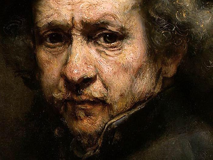 Autorretrato de RembrandtMenina de Velazquez