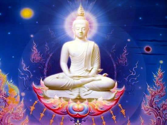 Buddha finds enlightenment