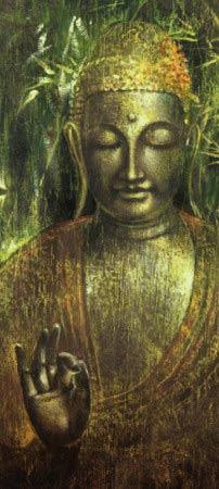 Buda en verdes, de Ying Wu Wei