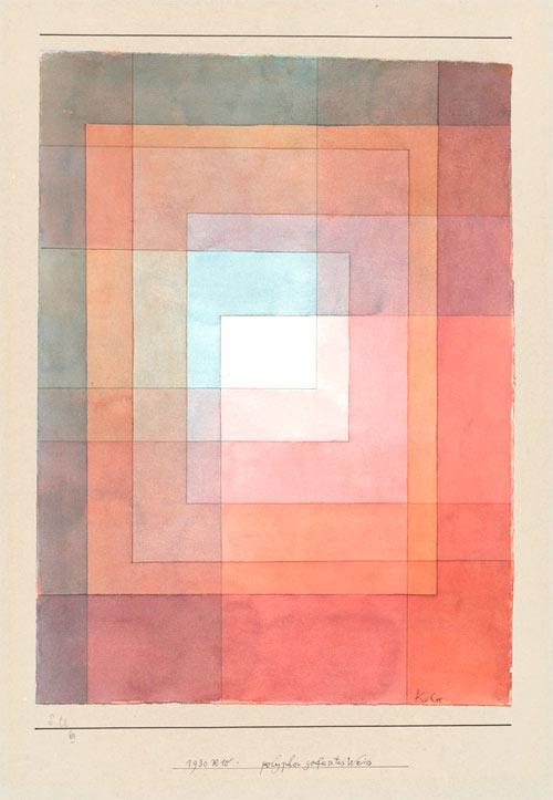 Armonía geométrica, Klee