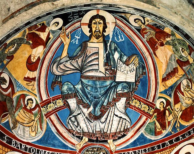 Dios Pantócrator, de Santa Maria de Taull