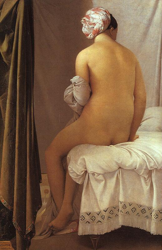 Espalda de mujer de Ingres