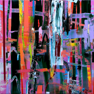 Pintura abstracta de Tomori Dodge