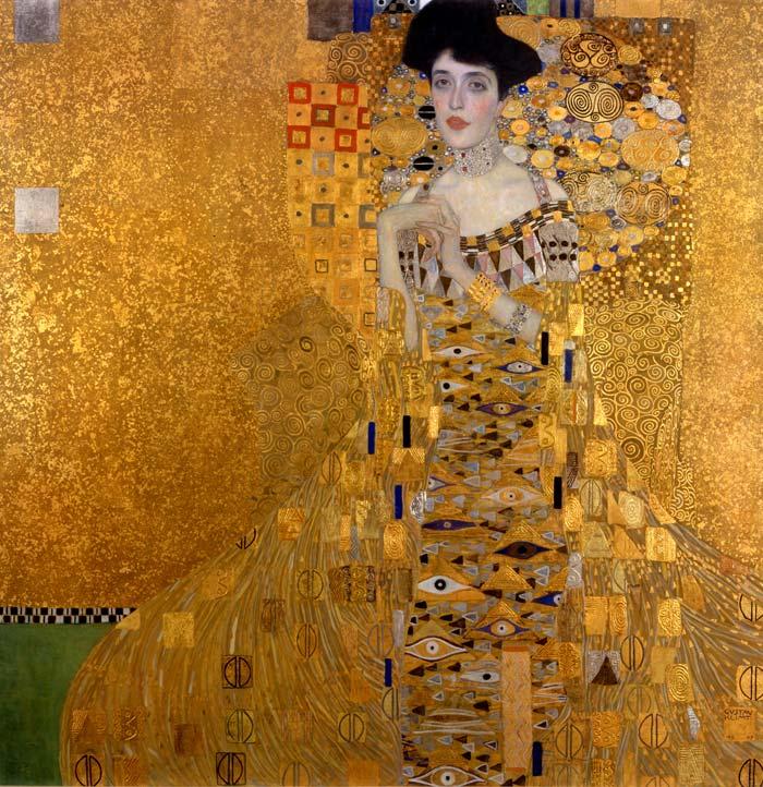Obra de Klimt, Retrato de Adele Block Blauer