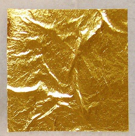 Ejemplo de una lámina de oro