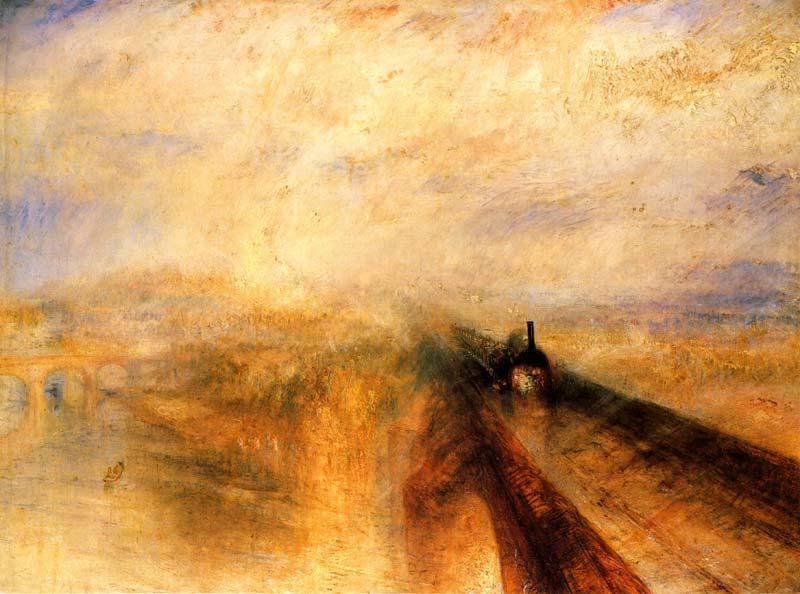 Lluvia, vapor y velocidad, de Turner