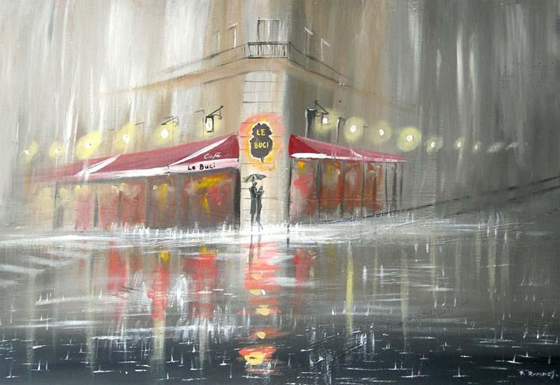 Lluvia sobre la ciudad, Rumney