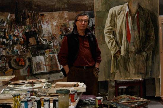 Artista en su taller, Safet Zec