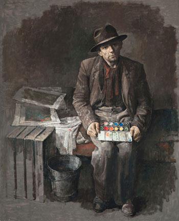 Safet Zec, pintor de acuarelas