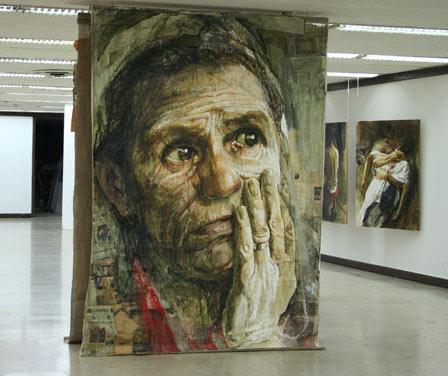 Mujer llorando Safet Zec