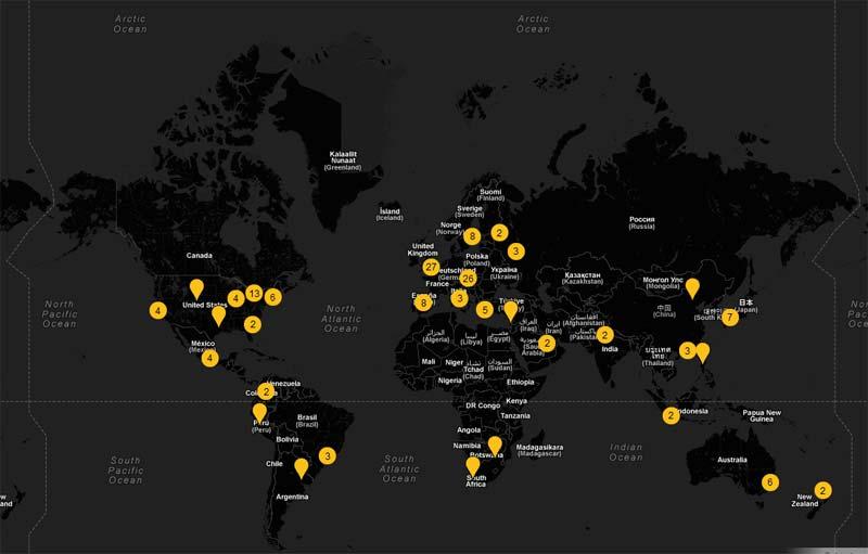 Mapa mundi - Google Art Project - El proyecto de arte de Google
