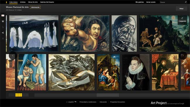 Museo Nacional de México en Google Art Project