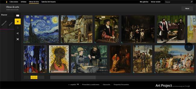 Google Art Project - El proyecto de arte de Google