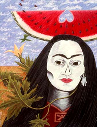 Pintura de Esther Hernández
