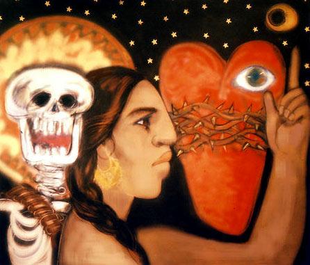 Pintura de Judithe Hernández