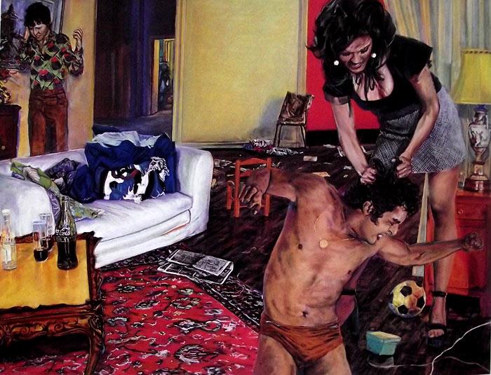 Pintura Tony y Edie