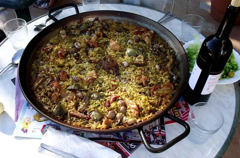 Fotos Gratis de comida- La paella valenciana