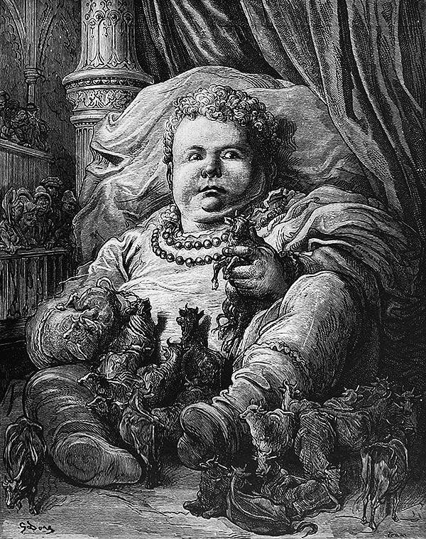 Ilustración de Gustave Doré