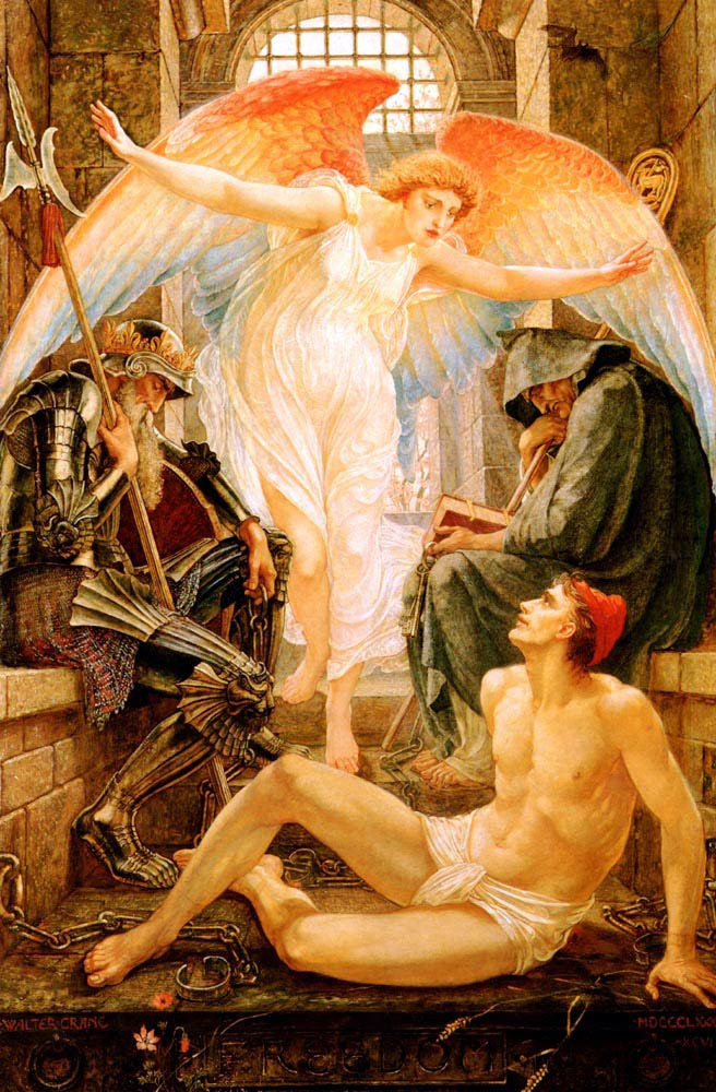 Freedom, by Walter Crane