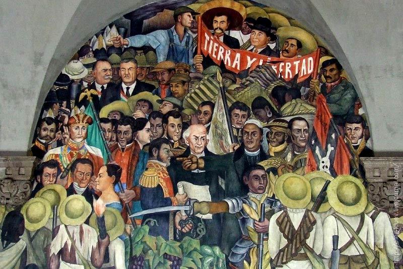Tierra y Libertad, de Diego Rivera