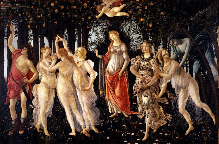 Primavera de Sandro Botticelli