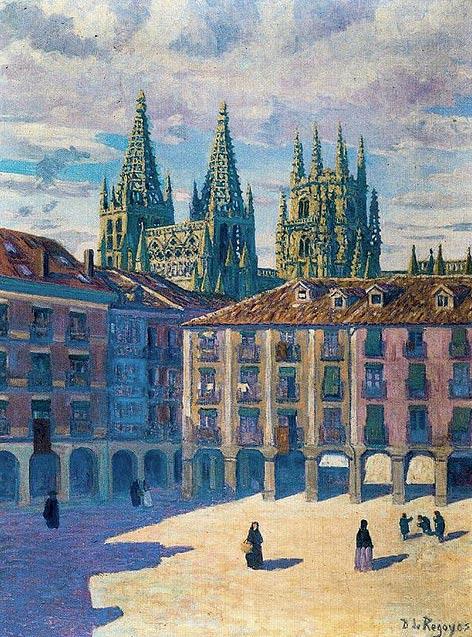 Catedral de Burgos, por Regoyos