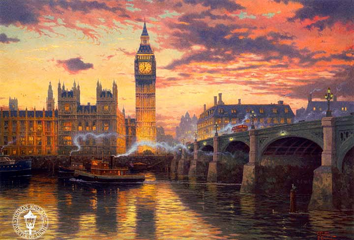 Thomas Kinkade Londres