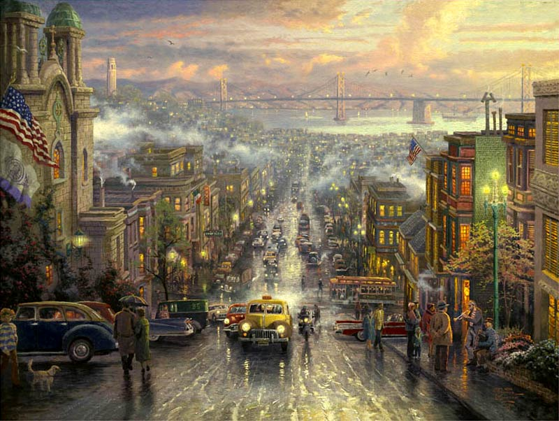 Thomas Kinkade San Francisco