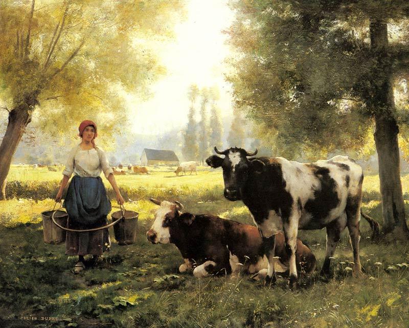 Pintar el verano pintura y artistas - Cuadros de vacas ...