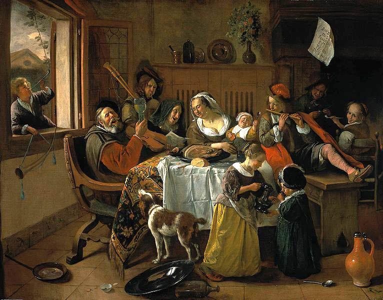 Steen, La familia alegre