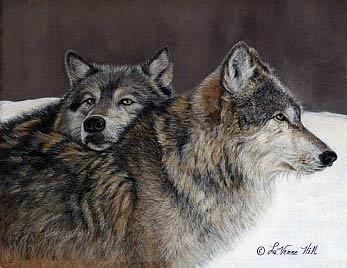 Lobos de LaVerne Hill