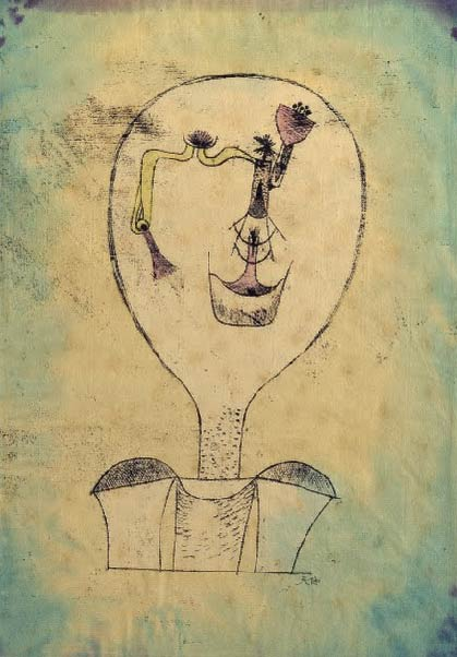 El principio de una sonrisa, Klee