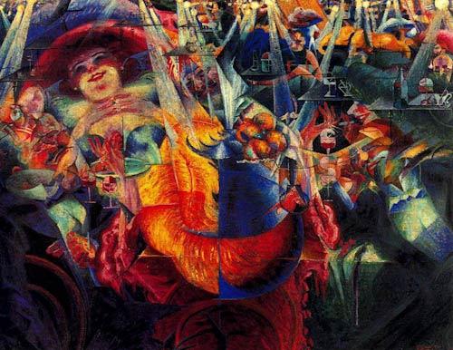 La risa de Umberto Boccioni