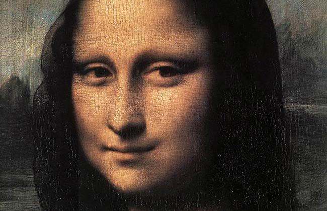 La sonrisa de Monalisa, de Leonardo Da Vinci