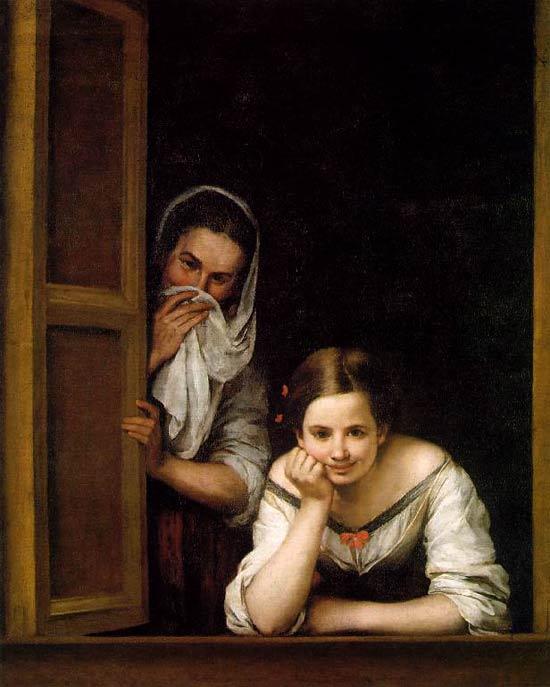 Dos Mujeres en la Ventana, de Murillo