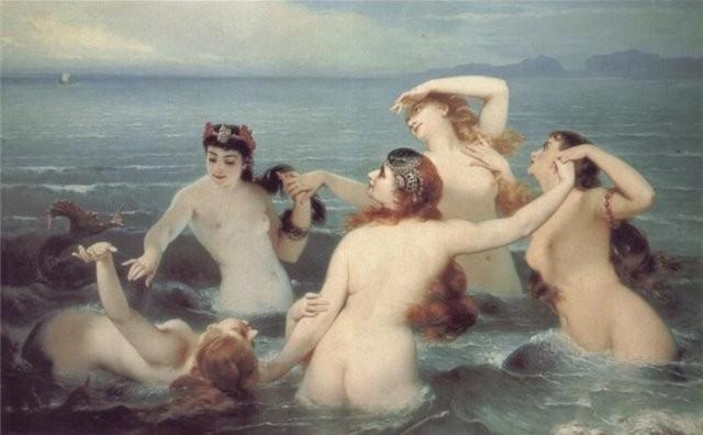 Sirenas de Charles Edouard Boutibonne