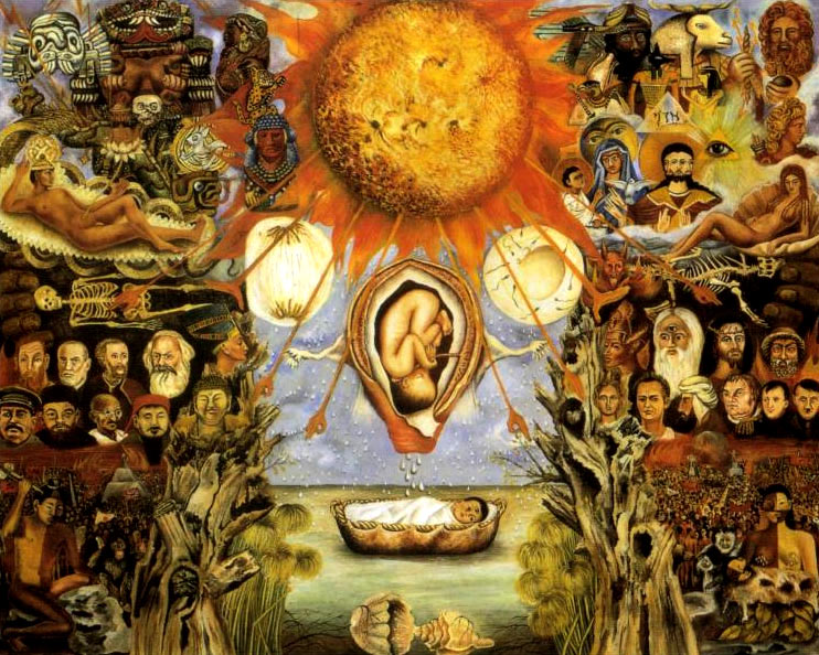 Pintura Moises de Frida Kahlo